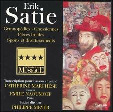 ERIK SATIE: TRANSCRIPTIONS POUR BASSON ET PIANO NEW CD