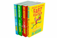 Doctor Proctor's Fart Powder 4 Book Collection Jo Nesbo, Time Travel Bath Bomb