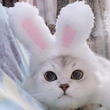 cat pet products Costume Cosplay Rabbit Hat Pet Cap Headwear Photo Props