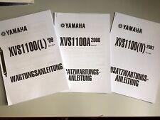 Yamaha XVS 1100 Drag Star Wartungsanleitung Reparaturanleitung 434 Seiten