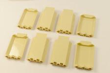 LEGO ®//1x2x2 coin//CORNER motif briques gris foncé//6 pièces