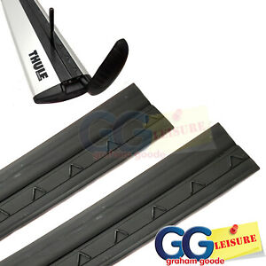 Thule Evo WingBars Rubber Strip Wind Diffuser (Pair) 1500mm