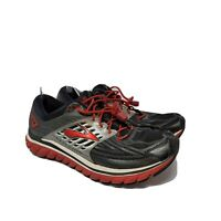 Brooks Glycerin Gray Red Mens Sneakers Running Shoes Size 9.5 Casual Athletic