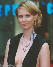"Cynthia Nixon Sex and the City Miranda REAL hand SIGNED 8x10"" Photo #1 w/ COA"