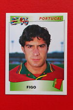 Panini EURO 96 N. 307 PORTUGAL FIGO New With BLACK back TOPMINT!!
