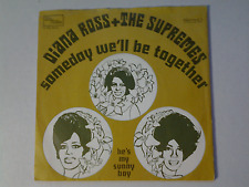 """Diana Ross & The Supremes 45 rpm """" Some Day We'll..."""" TAMLA MOTOWN 90746  DUTCH"""