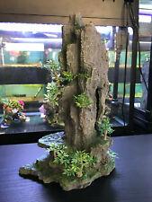 More details for large tall rock mountain fish tank aquarium ornament decoration (36cm)