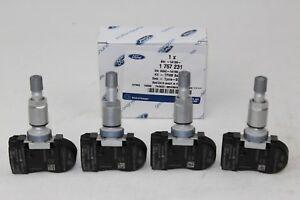 Originale Ford Sensore Pressione Pneumatici 4 Pezzo TPMS 433MHz 1757231 4x