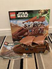 LEGO Star Wars Jabba's Sail Barge 2013 (75020) Rare Retired