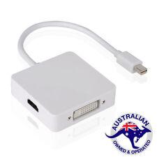 1x Mini DisplayPort to HDMI DVI Display Port Cable Adapter  (A024)