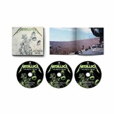 Metallica And Justice for All Deluxe CD Box Set Brand New Pre Order 02/11/18