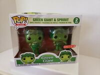 Funko POP! Ad Icons Green Giant & Sprout Vinyl Figure 2-Pack Damaged Box