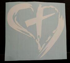 Vinyl Decal Sticker..Love The Cross..Symbolic..Christian..Car Truck Window