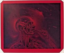 ALEX GREY x MARS-1 BICYCLE DAY on RED VELLUM RARE EDITION 4 UNIQUE ART PRINTS