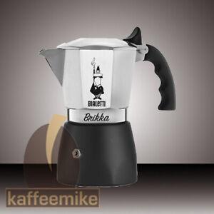 Bialetti Brikka neuestes Modell Espressokocher verschiedene Größen -Top Angebot