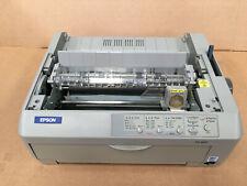 Epson FX-890 FX 890 Parallel USB 9 Pin Dot Matrix Printer No Covers + Warranty