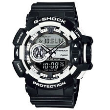 Casio G-Shock Mens Wrist Watch GA400-1A GA-400-1A Analog-Digital Black White