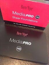 Ben Nye Media Pro Fair Sheer Foundation 18 Color Creme Makeup Palette DMG *NEW*