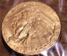 1915 Gold Indian $2.50 Great Eye Appeal Nice Luster Nice Strike