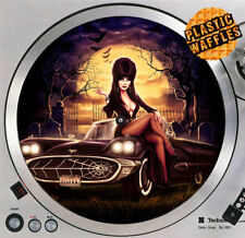 "Elvira #1 Halloween Slipmat 12"" LP Scratch Pad Slip Mat DJ Audiophile"