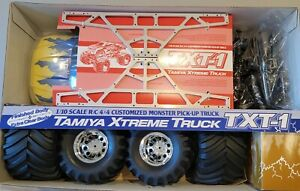 TAMIYA TXT-1 Monster Pick-Up Truck New In Box 1/10 58280 Radio Controlled RC
