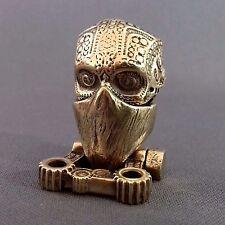 5//10//15 Skull Beads großloch Perles Paracord Lanyard Bracelet tete de mort s16