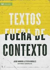 Textos Fuera de Contexto (Paperback or Softback)