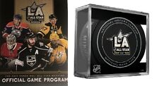 2017 ALL STAR GAME NHL OFFICIAL PROGRAM & CUBED ASG PUCK NATIONAL HOCKEY LEAGUE