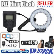 LED Macro Ring Flash Light for Nikon Canon Pentax Olympus DSLR Camera Accessory