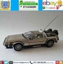 DeLorean Back To The Future 3 Ritorno Al Futuro 1 I Sunstar 1:18 Film Doc