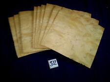 Laurel Maser Maserfurnier Maserholz 1 Paket  170 x 160 mm   23 Blatt  Nr. 922