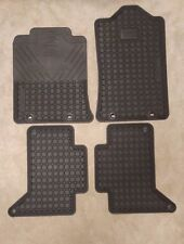 2012-2015 OEM Toyota Tacoma Double Cab All Weather 4 Piece Floor Mat Set --NEW--