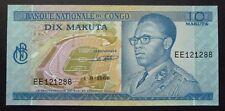 Banque Nationale du Congo - 10 Makuta - 1er septembre 1968 - UNC