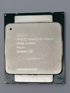 Intel Xeon E5-2630V3 SR206 2.40GHz 8-Core CPU Processor E5-2630 V3