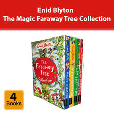 Enid Blyton The Magic Faraway Tree Collection 4 Books Set Childrens Pack