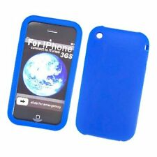 Silicone Skin Case for iPhone 3G / 3GS - Blue