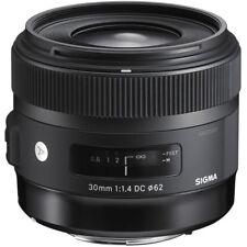 Sigma 30mm f/1.4 DC HSM Art Lens for sigma SA -  warranty sigma