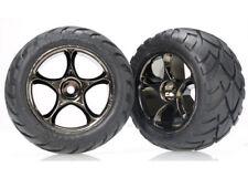 Traxxas Reifen Anaconda 2,2 hinten auf schwarzer Chrome-Felge