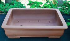 "Unglazed 27"" Rectangular Yixing Purple Clay Ceramic Bonsai Pot(PA80-27)"