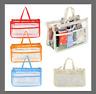 Women Clear Waterproof Travel Handbag Insert Organizer Cosmetic Bag-in-Bag Tidy