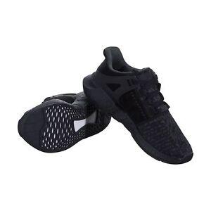 Men's Adidas Originals EQT Support 93/17 Triple Black Shoes [BY9512/Sizes]