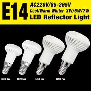replacement umbrella 5730 bulb r39 r50 led lamp e14 reflector spot light 3/5/7w