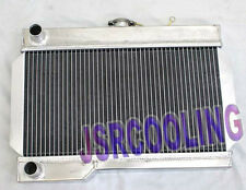 2 ROW Customized Aluminum Radiator fit for 1962-1974 MG Rover MGB MGB GT MT New