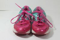 ASICS Gel Contend 2 Running Sneakers Shoes Pink Teal Women's Size 9 (A3)