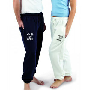 EMBROIDERED/PERSONALISED JOGGERS, SIZE S-2XL, IDEAL GIFT