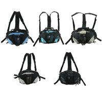 Skates Bag Shoulder Backpack for Inline Roller Skates Carrying Waist Pouch