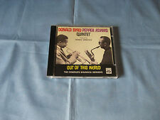Pepper Adams Donald Byrd Quintet Featuring Herbie Hancock Out Of This World CD