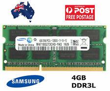Samsung 4GB DDR3 SoDIMM Laptop RAM PC3L 1600MHz 12800S Notebook Memory M471B5673