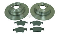 MERCEDES E-CLASS SALOON E320 CDi 2003-2009 REAR 2 BRAKE DISCS AND PADS SET NEW