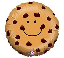 """SET OF 2 CHOCOLATE CHIP COOKIE Balloons 21"""" Mylar FREE SHIPPING"""